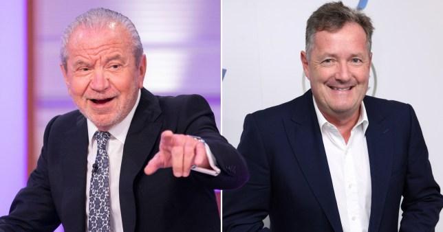 Piers Morgan and Lord Alan Sugar