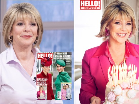 Ruth Langsford admits she didn't think she'd be working at 60 as she celebrates milestone birthday