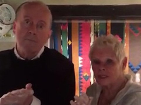 Judi Dench channels Cats as she goes feline in bizarre hand washing video while reciting poem