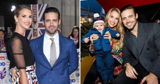 Vogue Williams, Spencer Matthews and their one-year-old son Theodore