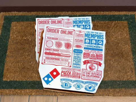 Domino's is providing zero contact delivery during the coronavirus pandemic