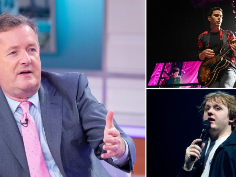 Piers Morgan slams Stereophonics and Lewis Capaldi for playing gigs amid coronavirus: 'We're in a war'