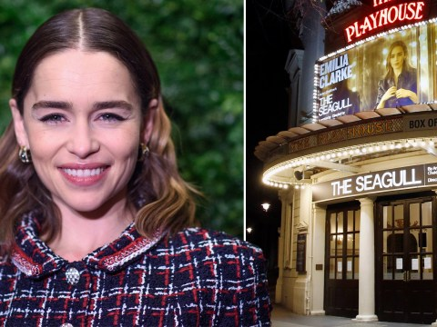 Emilia Clarke's play The Seagull suspended as London's West End shuts down over coronavirus pandemic