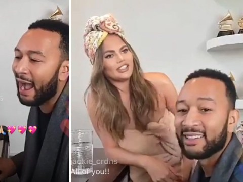 John Legend is a man of the people as he performs Instagram live concert from home