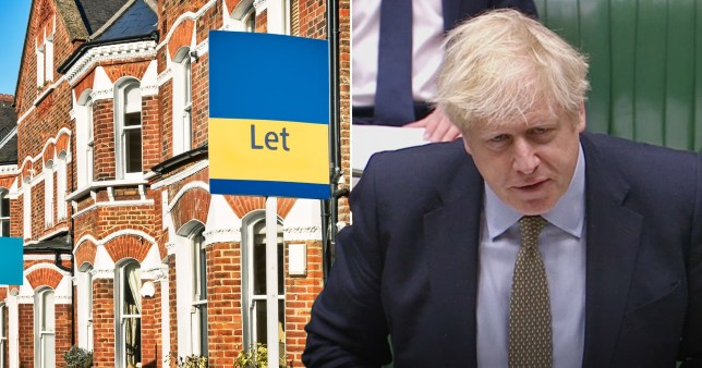 Boris Johnson said there would be support for private renters