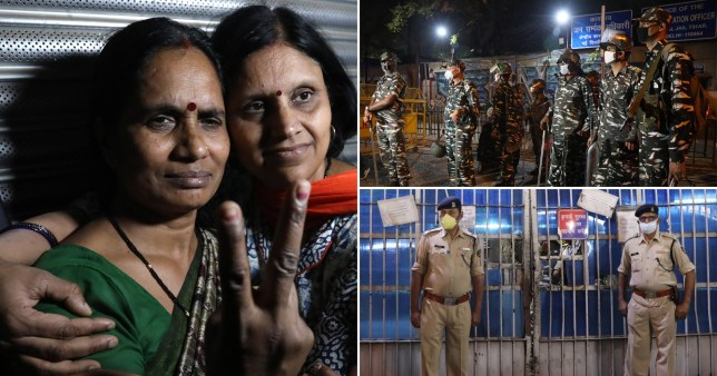 Indian men hanged for gang rape and murder