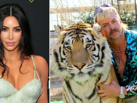 Kim Kardashian is just as obsessed with Netflix's Tiger King as we are – and she wants some answers about Carole Baskin's husband