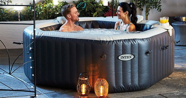 Aldi inflatable hot-tub