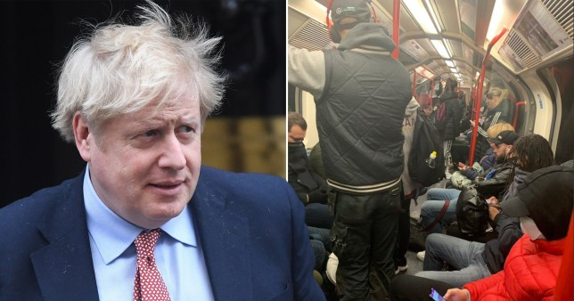 Boris Johnson said the Tube system can be run better (Picture: Getty/ajadmiah2)