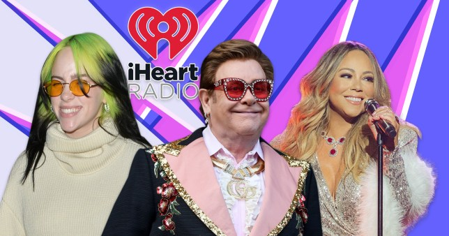 Elton John, Mariah Carey and Billie Eilish