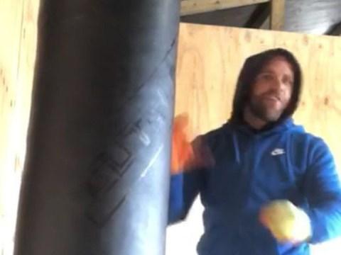 Billy Joe Saunders films tutorial teaching men how to hit their girlfriends during covid-19 lockdown