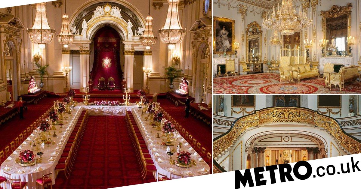 You can go on a virtual tour of Buckingham Palace