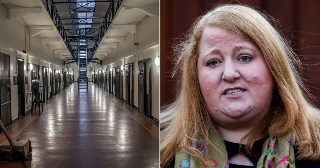 Composite of Belfast Prison and minister Long