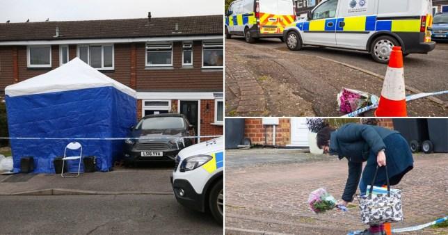 Murder-suicide in Hertfordshire