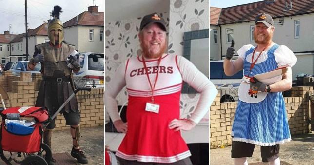 Postman fancy dress