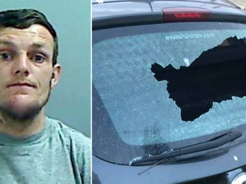 Man who smashed up NHS medics' cars jailed for 12 months