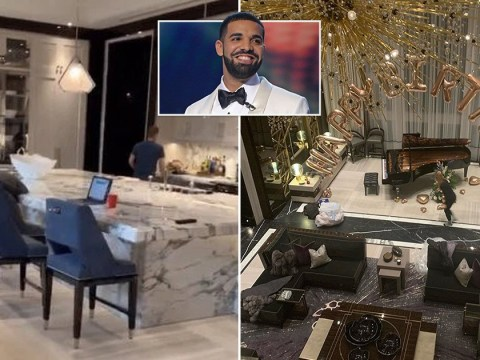 Inside Drake's $100m mansion in Toronto where he's waiting out self-isolation to reunite with son Adonis