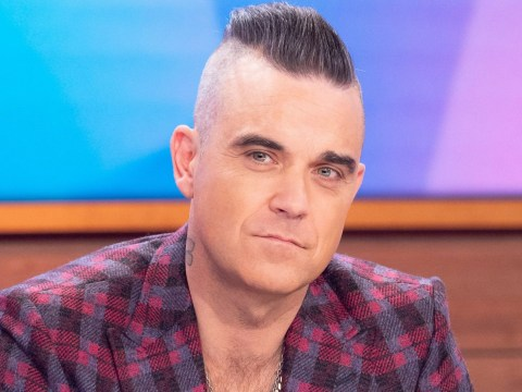 Robbie Williams is all about ageing gracefully as he refuses to be rocker who dyes his hair