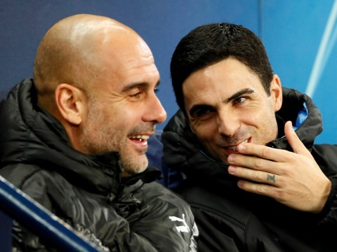 Pep Guardiola reveals what he told Mikel Arteta about becoming Arsenal manager