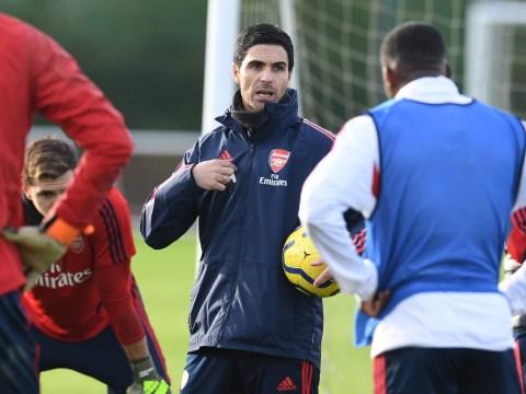 Arsenal change training plans as Mikel Arteta recovers from coronavirus