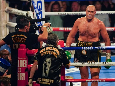 What SugarHill Steward told Tyson Fury moments before Deontay Wilder stoppage
