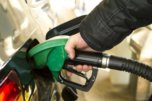 Gas Station pump - petrol; Shutterstock ID 93817549; Purchase Order: -