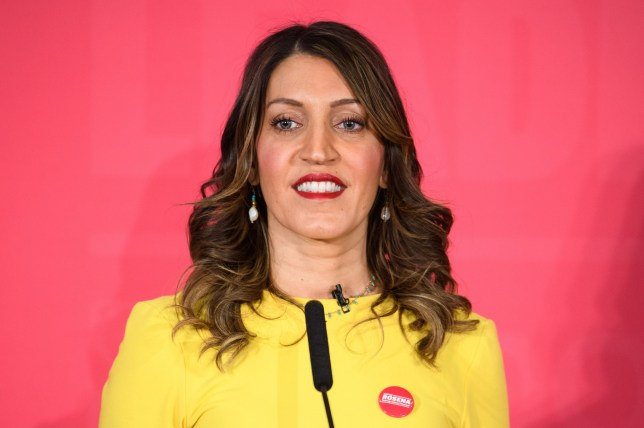 Rosena Allin???Khan speaking during a deputy leadership hustings event for the Labour Party, at the Grand Hotel in Brighton. Picture date: Saturday February 29, 2020. Photo credit should read: Matt Crossick/Empics