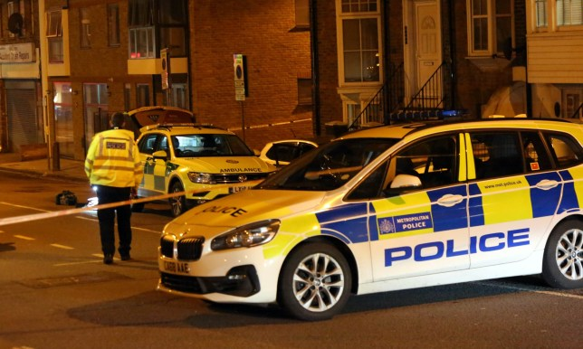 Hendon, North London Sunday 1st March 2020 A man in his 20s has been stabbed to death in #Hendon, north-west London. The man was attacked whilst he was driving a Silver VW Polo that ploughed into a number of parked vehicles The Met Police say they were called at 9.00pm to Parson Street, #NW4. Despite efforts of Officers with trauma first aid kits and Advance paramedics from the LAS the made sadly passed away sometime later. There have been no arrests and the suspect remains outstanding. A crime scene remains in place. Forensic investigators are at the scene and have started searching the immediate area following a fatal stabbing on Saturday evening.