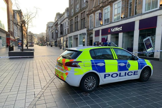 The 19-year-old was stabbed on Church Street - A number of shops on Church Street in Liverpool city centre remain cordoned off by police this morning after a teenager was stabbed in the area in the early hours of this morning. The 19-year-old man is critical in hospital after reports of a fight near River Island at 4am alerted police to the scene. Police arrested a 20-year-old man following the incident, in which a second 19-year-old man sustained a minor neck injury. He has been arrested on suspicion of two counts of Section 18 assault, possession of a bladed article and possession with intent to supply drugs.