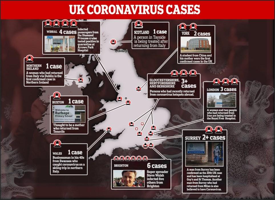 Race to find UK coronavirus spreaders as Britain prepares for things to get worse