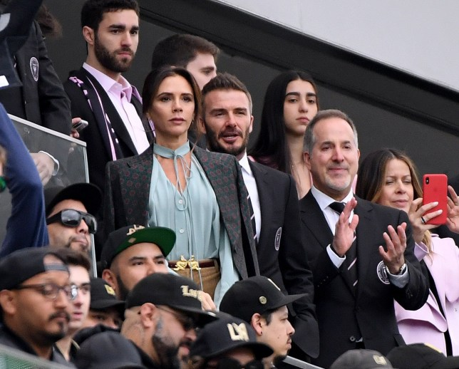 David Beckham Victoria Beckham Inter Miami