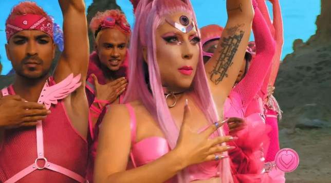 Lady Gaga releases new Stupid Love music video