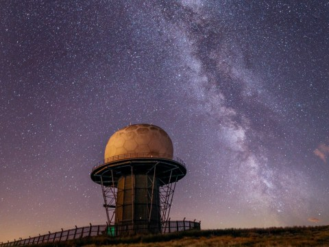 British photographer's stunning image shows the Milky Way in all its starry glory