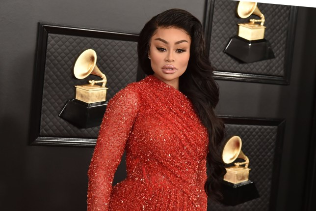 LOS ANGELES, CA - JANUARY 26: Blac Chyna attends the 62nd Annual Grammy Awards at Staples Center on January 26, 2020 in Los Angeles, CA. (Photo by David Crotty/Patrick McMullan via Getty Images)