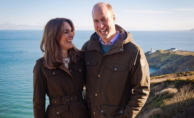 Duke and Duchess of Cambridge. Kate Middleton and Prince William