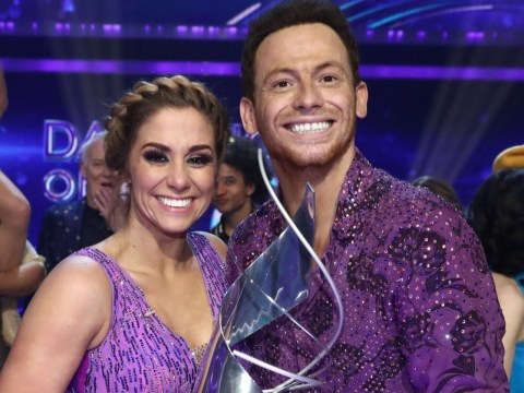 Why did Joe Swash swap partners on Dancing On Ice before his victory?