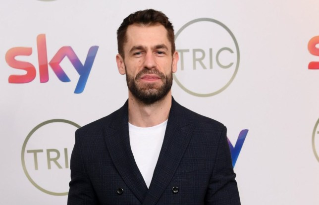 Mandatory Credit: Photo by David Fisher/REX (10578623ag) Kelvin Fletcher The TRIC Awards, Arrivals, Grosvenor House, London, UK - 10 Mar 2020