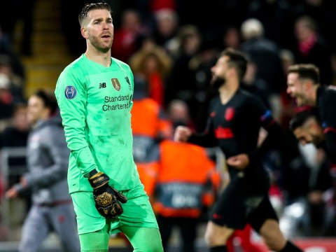 Adrian 'sad and disappointed' after Liverpool dumped out of Champions League by Atletico Madrid