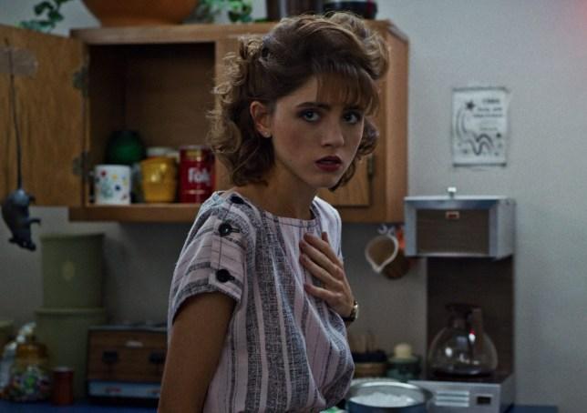 Stranger Things star Natalia Dyer