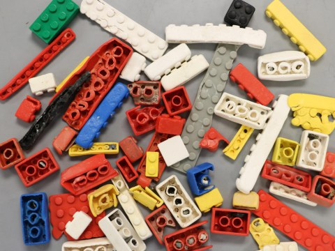 Lego bricks survive in ocean for 1,300 years
