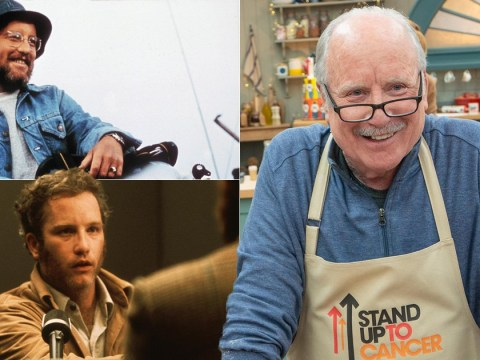 What films has Richard Dreyfuss starred in as he takes part in Celebrity Bake Off?