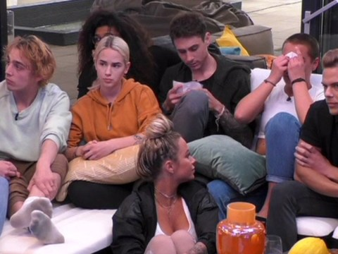 German Big Brother housemates emotional as they're finally told about coronavirus in live episode