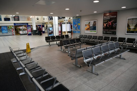 PLYMOUTH, UNITED KINGDOM - MARCH 19: A general view of an empty Plymouth Train Station on March 19, 2020 in Plymouth, United Kingdom. Coronavirus (Covid-19) has spread to over 176 countries, claiming nearly 9,000 lives and infecting over 219,000. There are currently 2,626 diagnosed cases in the UK and 104 deaths. (Photo by Dan Mullan/Getty Images)