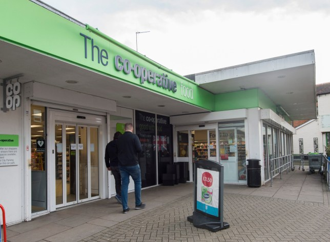 Mandatory Credit: Photo by David Parker/ANL/REX (9455397a) Money Mail: The Large Co Op Supermarket In Crowthorne Berkshire Which Has Not Been Affected By The Increase In Business Rates Inflicted Upon The Smaller Businesses In The Town. 16.02.2017. Money Mail: The Large Co Op Supermarket In Crowthorne Berkshire Which Has Not Been Affected By The Increase In Business Rates Inflicted Upon The Smaller Businesses In The Town. Picture David Parker 16.02.2017.