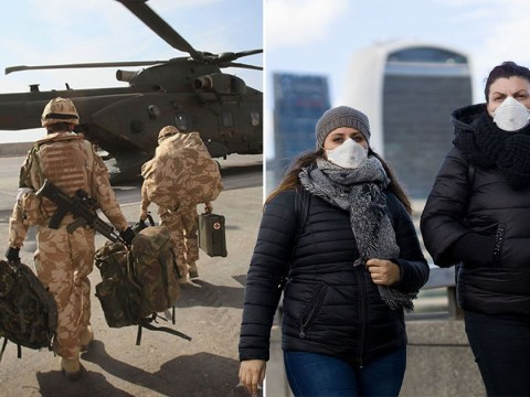 British soldiers pulled from Iraq over coronavirus crisis