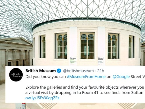 The British Museum may be closed but you can virtually explore from the comfort of your own home