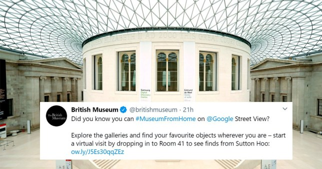 Visit museums online