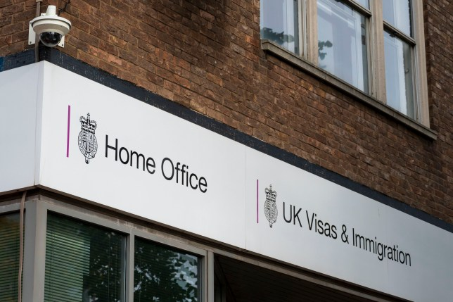 CARDIFF, UNITED KINGDOM - OCTOBER 12: A general view of a Home Office visa and immigration centre on October 12, 2019 in Cardiff, United Kingdom. (Photo by Matthew Horwood/Getty Images)