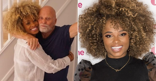 Fleur East Instagram tribute to her dad