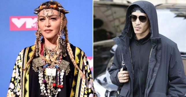 Madonna and her boyfriend Ahlamalik Williams